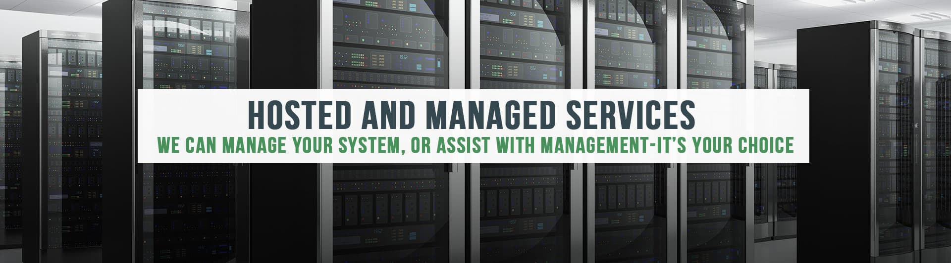 Hosted And Managed Services